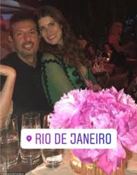 guy oseary and wife renew vows for a list crowd in brazil daily