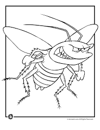 bugs coloring pages woo jr kids activities
