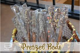 where to buy pretzel rods bake sale goodies