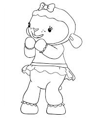 lambie lamb happy doc mcstuffins coloring netart