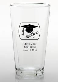 college graduation favors college graduation favors personalized pint glass