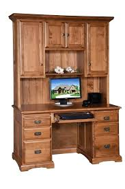 Cherry Desk With Hutch Office Desk Hutch Atken Me