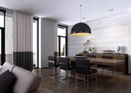 modern dining room lighting modern dining room with hanging lights the modern