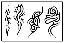 tribal design img1170 tribal flash tatto sets
