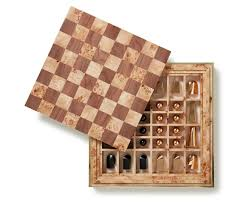 shagreen chess set aerin