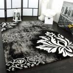 tappeti moderni bianchi e neri tappeti neri moderni il miglior design di ispirazione e gli arredi