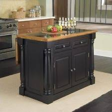 granite top kitchen island cart counter solid wood breakfast bar