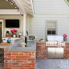 outdoor kitchen on a budget
