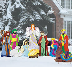 looking for the best large outdoor nativity sets for
