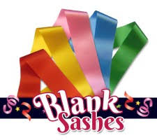 blank sashes sashes for any event every occasion sashes co uk