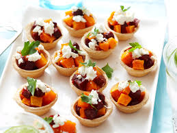 canapé pumpkin pumpkin and chorizo bites recipe food to