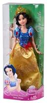 amazon disney sparkling princess snow white doll toys u0026 games