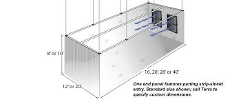 ez up suspended frame cleanroom