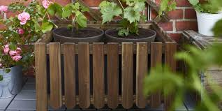 how to make a wooden planter trough garden planters