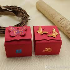 candy favor boxes wholesale bridal wedding favor boxes gold butterfly shape wedding candy