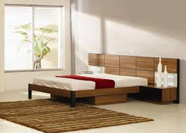 Italian Quality Wood High End Platform Bed With Extra Storage - Elegant non toxic bedroom furniture residence