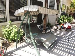 Courtyard Creations Patio Set Get A Canopy Replacement For Swings