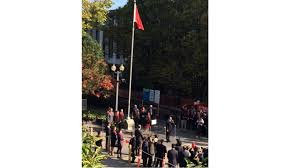 Vancouver Flag Twitter Explodes In Anger As Flag Of Communist China Raised At
