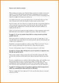 show exles of resumes objective exle resume krida info