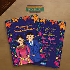 Indian Invitation Card Scd Balaji Quirky U0026 Creative Indian Wedding Invitations