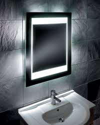 mirror design ideas awesome led illuminated bathroom mirror for
