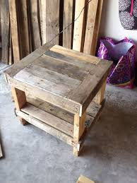 Build Wooden End Table by 36 Best Pallet And Furniture Flip Images On Pinterest Pallet