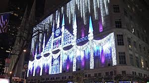saks fifth avenue lights saks fifth avenue videos and b roll footage getty images