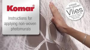 komar photomurals on non woven instructions wallpapering has komar photomurals on non woven instructions wallpapering has never been so easy youtube