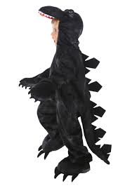 dinosaur halloween costume kids child godwin the monster costume