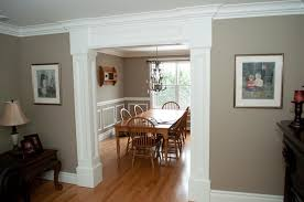 dining room molding ideas customized moulding in new home