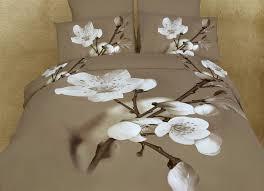 dolce mela floral bedding king size duvet cover set dm420k