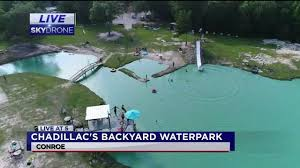 you u0027re invited to chadillac u0027s backyard waterpark abc13 com