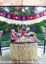 party themes july luau memorial day 4th of july luau party ideas luau and luau party