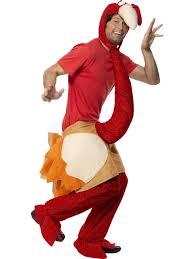 men christmas turkey fancy dress costume
