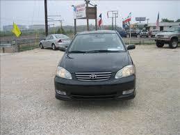 2003 toyota corolla mpg automatic 2003 toyota corolla sport automatic black 6499