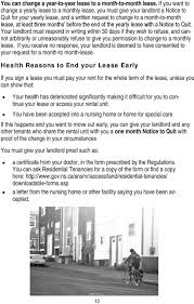 end of lease letter to landlord template tenant rights guide guide to rental housing in nova scotia pdf months before the end of the yearly lease with a notice to quit