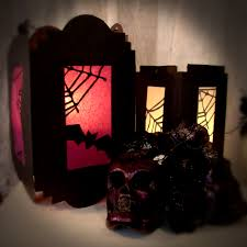 how to halloween shadow lanterns the painted rabbit