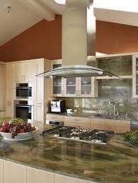Kitchen Island Ventilation A Custom Illuminated Backsplash Which Utilizes Energy Efficient