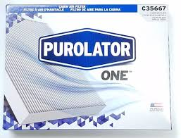 lexus ct200h cabin filter amazon com purolator c35667 breatheeasy cabin air filter automotive