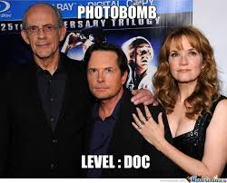 Back To The Future Meme - photobomb back to the future by ant1com meme center