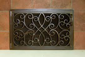 Custom Size Fireplace Screens by Iron Design Center Nw Lighting Fireplace