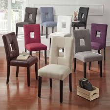 Mendoza Keyhole Back Dining Chairs Set Of  By INSPIRE Q Bold - Dining chairs in living room