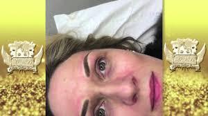 3d hair stroke eyebrow tattoos scotland by million dollar brows
