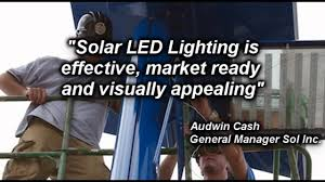 commercial solar lighting for parking lots solar led parking lot lighting youtube