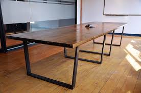 Antique Boardroom Table Reclaimed Wood Conference Table With Chairs Homyxl Within Ideas 1