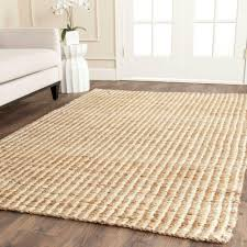 10 Square Area Rugs 8 X 10 Beige Sisal Area Rugs Rugs The Home Depot