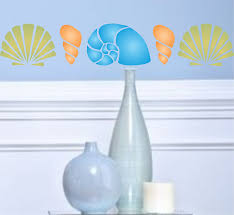 amazon com stencils for walls ocean stencil size 10 5 amazon com stencils for walls ocean stencil size 10 5