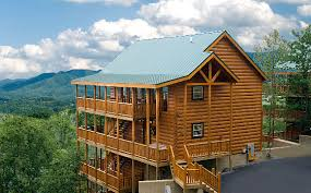 One Bedroom Cabins In Pigeon Forge Tn Sky View Luxury Vacation Rental Cabins In Pigeon Forge Tn