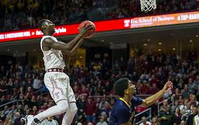 s basketball faces no 25 florida state on thanksgiving in nit