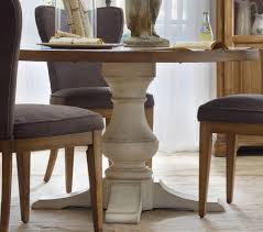 Dining Room Table Pedestals by Decorative Round Pedestal Kitchen Table Amish Dining Solid Wood